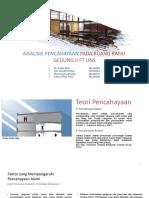 ANALISIS PENCAHAYAAN PADA RUANG RAPAT GEDUNG II FT.pptx