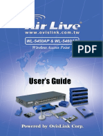 AirLive WL-5450AP Manual