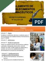 Decreto Supremo 014 2011-SA