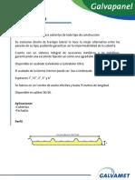 Manual tecnico de galvatechos Ternium