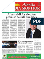Manila Media Monitor -- AUGUST 2010