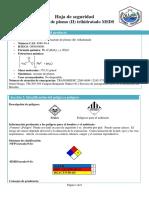 Acetato de Plomo II Trihidratado