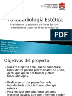Fonoaudiología Estética