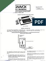 Philips Odsey Manual do usuário