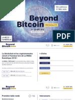 Beyond Bitcoin 2018 - Pitch Deck - Final