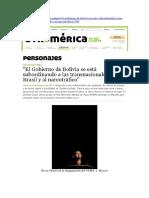Entrevista Óscar Olivera (Otramérica, 16-03-12, Francia)