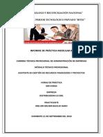 Informe Final de Prácticas Pre-profesionales - Modular III