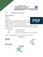Contoh Surat Izin organisasi kepanitiaan