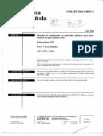 Norma Española Polipropileno