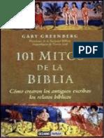 101 Mitos de La Biblia, Gary Greenberg