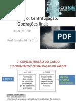 2016_aula3 Cozimento, Centrifugação, Operações Finais