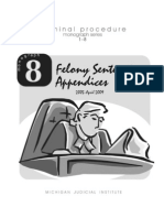 Monograph 8 Felony Sentencing Appendices April-2009