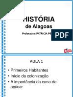 1- História de Alagoas