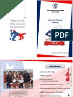 Diptico Fiestas Patrias 2018