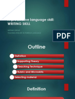 TEFL Writing