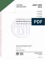 NBR 5410 Instalações elétricas de baixa tensão.pdf