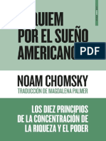 Chomsky - 2017 - Réquiem Por El Sueño Americano. Los Diez Principios de La Concentracion de La Riqueza y El Poder