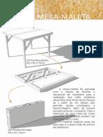 Manual Mesa Maleta