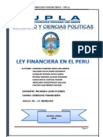 Monofrafia de La Le Financiera (Autoguardado)