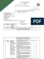 Planificare calendaristica Clasa a 12-A Advanced Epert CAE, Longman