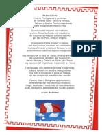 Poesia Fiestas Patrias PERU
