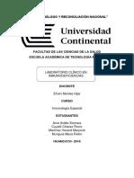 INMUNODEFICIENCIAS EN EL PERU Y HUANCAYO - UNIVERSIDAD CONTINENTAL ´´´TECNOLOGIA MEDICA DE LABORATORIO Y ANATOMIA PATOLOGICA´´