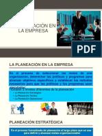 Planeación en La Empresa