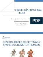 Anatomia y Fisiologia Funcional Clase 1 Generalidades