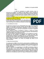 Carta de Luis Molina