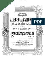 IMSLP501685-PMLP812563-Krzyzanowski Op.33 Allegro Apassionato PPN833820400