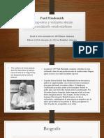 Paul Hindemith, biografia...