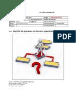 Lectura de Gestion de Procesos de Sistemas