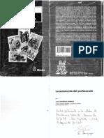 Contreras José - La Autonomía Del Profesorado