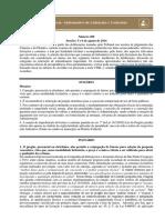Informativo de Licitações e contratos