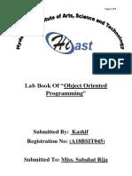 Kashif's OOP Lab