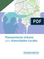 Planteamiento urbano para autoridades locales
