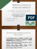 presentacion detallada de  laboratorio Experimental en Psicologia