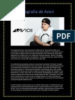 Biografia de Avicii