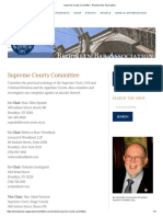 Supreme Courts Committee - Brooklyn Bar Association