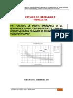 1. Estudio de Hidrología Requena