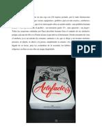 13. Artefactos, Nicanor Parra