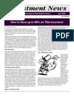 Newsletter April 2008