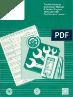 Cummins B Series 1991 & 1994 Service Manual Full-