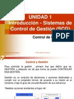 Introducción al Sistema de Control de Gestión