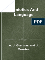 [Advances in Semiotics] Algirdas Julien Greimas,  Joseph Courtes - Semiotics and Language
