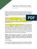 La huella portuguesa en Venezuela.docx