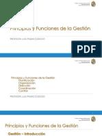 CLASE 1 Principios y Funciones de La Organización