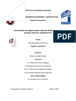 GUIA DEL PLAN DE NEGOCIOS PARA EMPRESA DESARROLLADORA DE PROYECTO EJECUTIVO ARQUITECTONICO.pdf