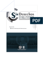 Sin Derechos. Exclusion y Discriminacion  en el Mexico Actual - Lineas de Investigacion Instit.pdf