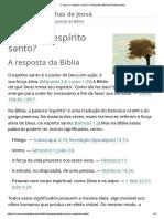 O Que é o Espírito Santo_ _ Perguntas Bíblicas Respondidas